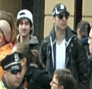 The suspects in the Boston Marathon bombings. (Courtesy FBI)