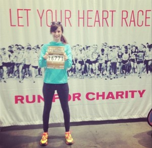 Heart surgery survivor raises money with road races