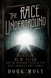 "The cover of ""The Race Underground"" by Doug Most. (Courtesy Photo)"