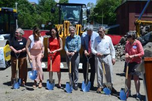GENERAL HEATH APARTMENT SQUARE PROJECT, GROUND BREAKING